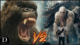 King Kong VS Rampage Monsters (George, Lizzie & Ralph) | BATTLE ARENA