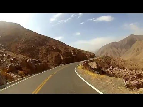 "84 kms crazy ""downhill"" ride from Pampas Galeras to Nasca, 3800m-almost sea level, Peru"