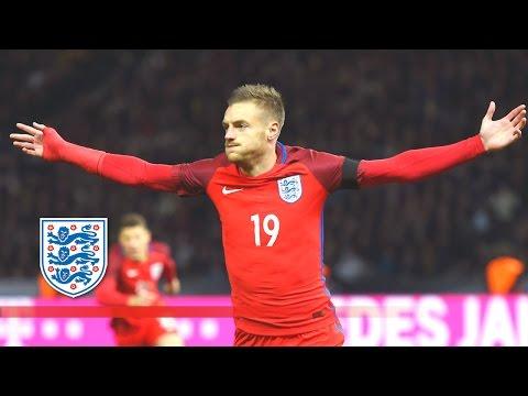 Amazing Jamie Vardy back-heel goal - Germany 2-3 England | Goals & Highlights