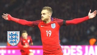 Amazing Jamie Vardy back-heel goal - Germany 2-3 England | Goals & Highlights