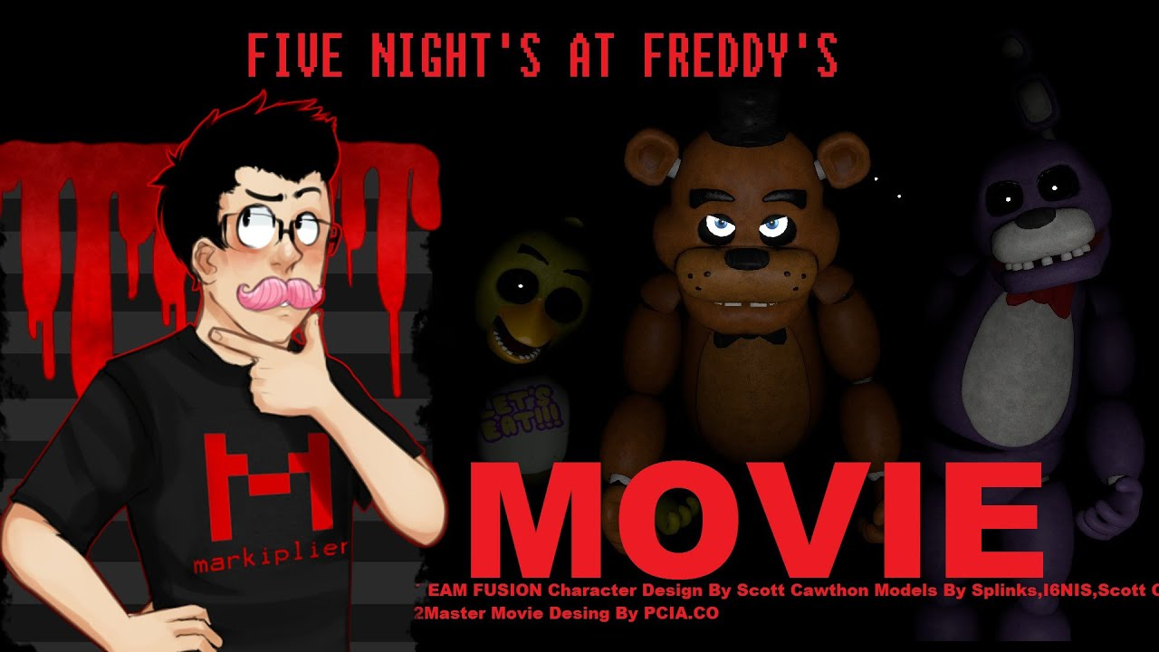 Fnaf Wallpapers 3d Markiplier To Be Security Guard In Five Nights At Freddys