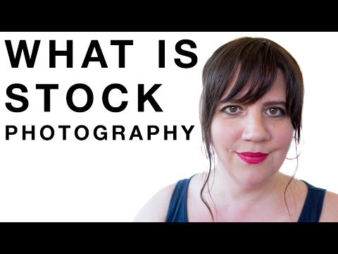 what is stock photography