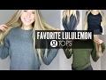 My All Time Favorite Lululemon Tops