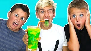 SUPER SOUR SMOOTHIE CHALLENGE!!