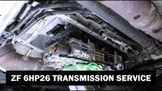 How To Service A BMW E70 X5 Transmission