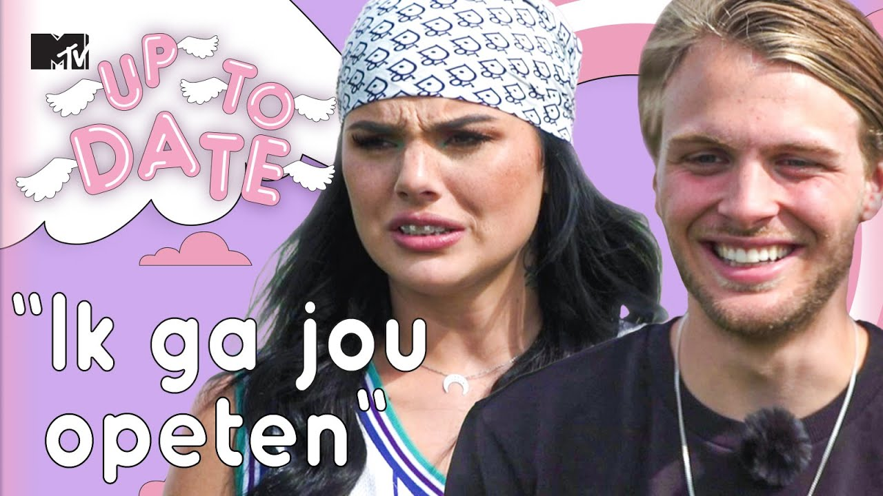 FAMKE LOUISE EN RIJK DATEN MET ALPACA'S | MTV Up To Date