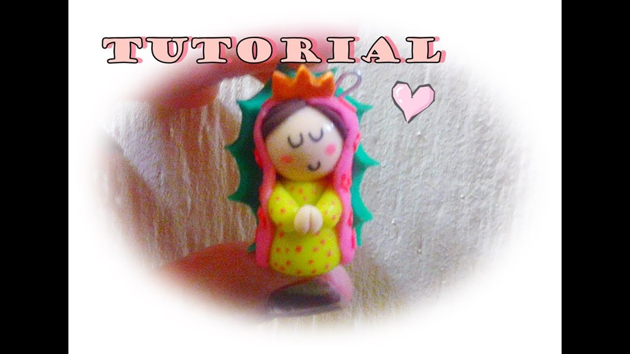 "Virgencita "" porcelana fria TUTORIAL - YouTube"