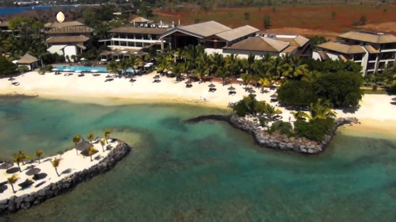 InterContinental Mauritius Resort Balaclava Fort - YouTube