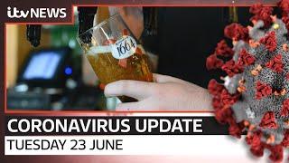 Coronavirus update: Tuesday, 23 June