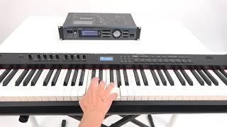 """Connecting Two Digital Instruments (Fast Mode)"" Roland WM-1/WM-1D #05"