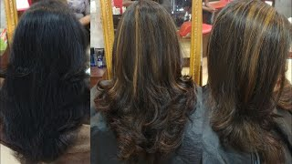 VLOG | MY NEW HAIR | SOFT BLONDE HIGHLIGHTS ON BLACK HAIR | KOLKATA INDIA