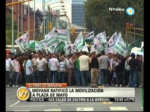 Visión 7: Moyano, Barrionuevo y Micheli: El paro y piquetes, según sus organizadores de YouTube · Duración:  2 minutos 22 segundos
