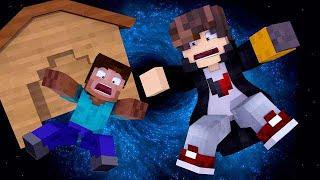 Minecraft: DESAFIO DA BASE 100% SEGURA CONTRA BURACO NEGRO  ‹ JUAUM ›