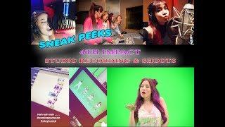 Sneak Peek! 4th Impact Recording Original Songs for U.S. Debut Album (Feb 2018!)