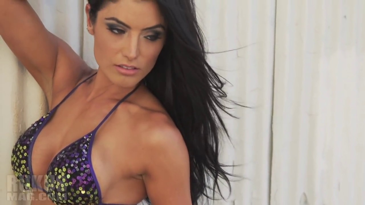 Natalie Eva Marie BTS with RUKUS magazine  YouTube