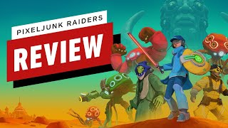 PixelJunk Raiders Review (Video Game Video Review)