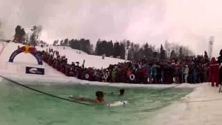 Red Bull Jump аnd Freeze 2012. Аквашоу на Снежном 2012