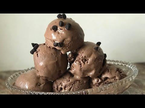 Chocolate Ice Cream Recipe || No Ice Cream Machine And No Blender Ice Cream Recipe