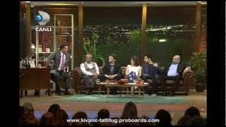 Kıvanç Tatlıtuğ & Kelebeğin Ruyası Team in Beyaz Show ( Part 4 ) - March 15, 2013