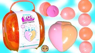 BIG LOL BUBBLY Surprise Blind Bag with Fizz Heart In Water - Toy Video