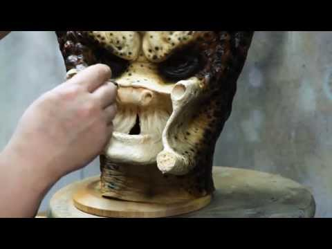 How To Paint A Predator Head With Ta2Pro P1 Style