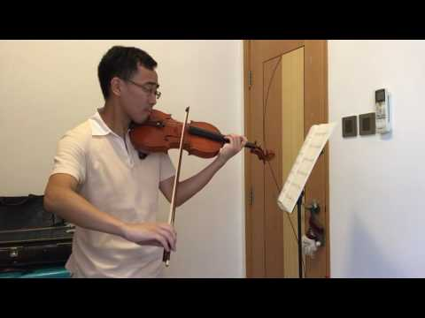 ABRSM Violin grade 5 2016-19 B1 The Holy Boy