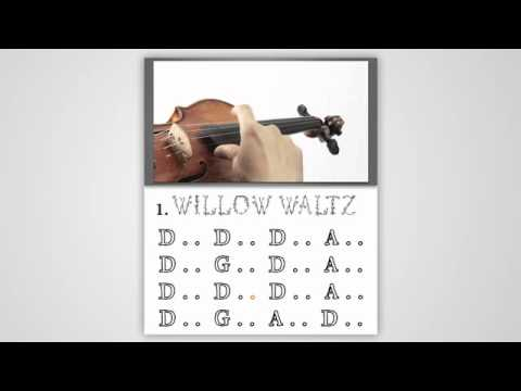 Violin tuition book on the iPad preview