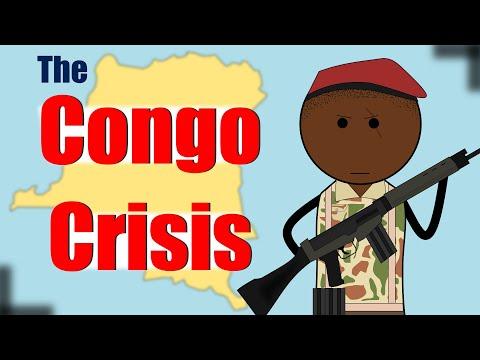 The Congo Crisis   Animated History of Congo