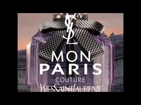 Pub Officielle  NEW Mon Paris Couture  YSL