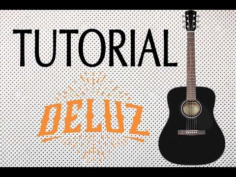 DeLuz -Tutorial- SOPLA (Guitarra Acustica)