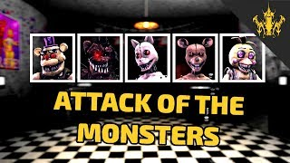 ⭐️[SFM FNAF] Attack of the Monsters | Bertbert⭐️