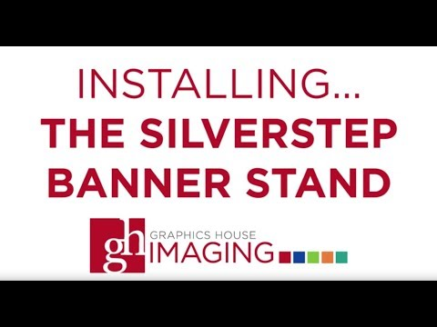 Installing and Updating Graphics for the SilverStep Banner Stand