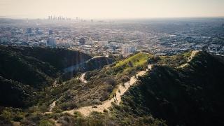 LA from above, USA | DJI Mavic Pro. 4k.