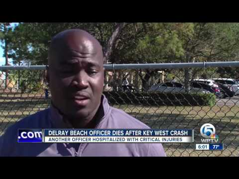 1 Delray Beach police officer killed in Key West crash, another injured