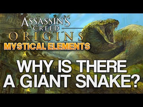 Assassin's Creed Origins | Mystical Elements (GIANT SNAKE) My Thoughts!