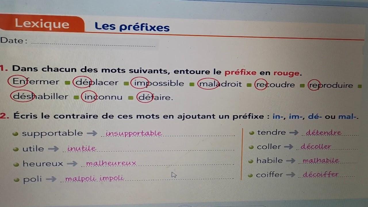 Correction Des Exercices Youtube