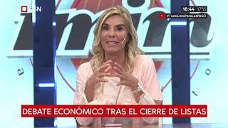 """Debate económico en """"Minuto a minuto"""""""