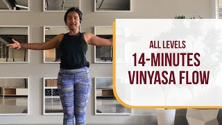 All Levels 14-Minute Vinyasa Flow