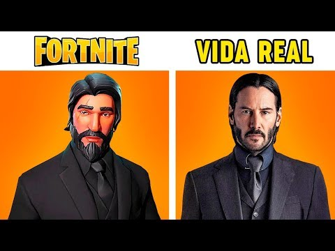 10 Personajes De Fortnite En La Vida Real