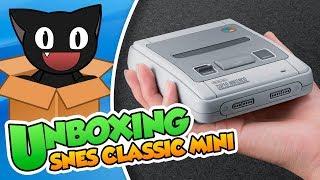 Unboxing Y Vistazo A Super Nintendo Classic Mini!
