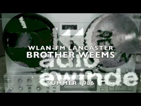 WLAN FM Lancaster Summer 1986 Brother Weems