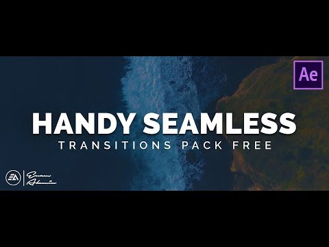 FREE Handy Seamless Transitions Pack for After Effects || Sound Effects (2019)