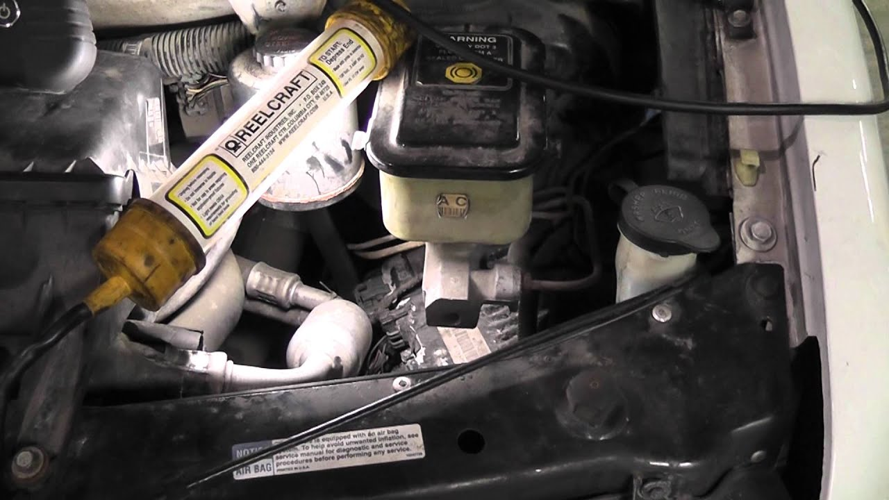 2004 dodge 2 7 engine diagram rs232 wiring db9 bad computer from water intrusion (chevy van) - youtube