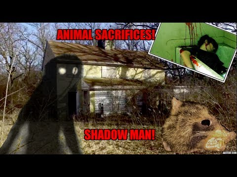 The Most Haunted House in Illinois? (Shadow man, SACRIFICED ANIMALS)