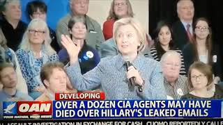 CIA undercover agents link to being killed due to Hillary's leaked emails