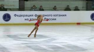 Elena RADIONOVA (RUS) - Rostelecom Crystal Skate 2010