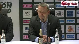 1878 TV | Pressekonferenz 20.10.2019 Augsburg - Bremerhaven 0:4