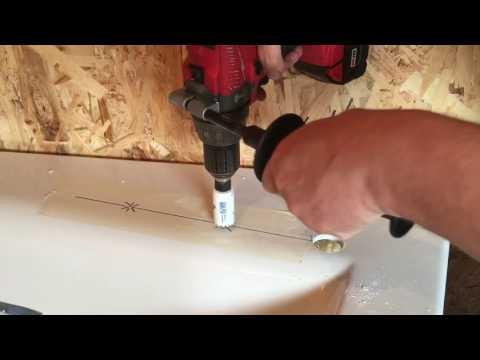 0 - Установка змішувача на акрилову ванну