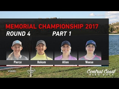 2017 Memorial FPO Round 4 Part 1 - Pierce, Hokom, C. Allen, Weese