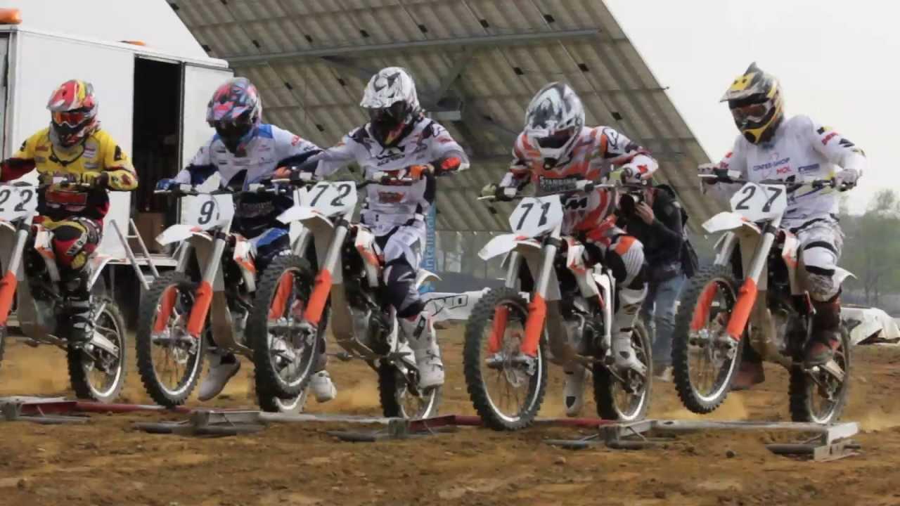 画像: First ever ELECTRIC-MX race at ZOLDER youtu.be